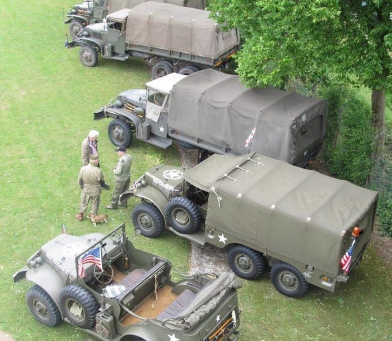 13 juni klassieke militaire voertuigen show in Heerewaarden!