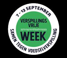 Verspillingsvrije week 7 t/m 13 september 2021